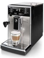 Saeco HD 8924/01 Picobaristo Vollautomatische Espressomaschine, Edelstahlgehäuse, 1850 Watt, Integriertes Mahlwerk, Milchaufschäumer, Wasserfilter