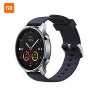 Original Xiaomi Mi Uhr Farbe Smart Watch mit 1,39 Zoll AMOLED Bildschirm 10 Sportmodus 14 Tage Standby 5ATM Wasserdicht (Silber)
