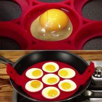 Omeletts und Mehr Pfannkuchen Verwendet Werden Rot Orange Blau Silikono Spiegelei Schimmel LLMZ 6 St/ück Pfannkuchenform Antihaft Hitzebest/ändig Ei Ringe von Spiegelei