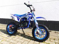 Pocketbike KXD 702 Dirtbike Pocket Cross Bike Kindercross Crossbike Blau