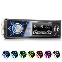XOMAX XM-R272: 1DIN, Autoradio mit Bluettoth, FlashXO, USB, AUX IN, ohne Laufwerk