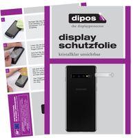 2x Samsung Galaxy S10 Kameralinse Schutzfolie klar Displayschutzfolie Folie