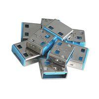 LINDY USB Port Schloss (10 Stück) OHNE Schlüssel: Code BLAU 40462