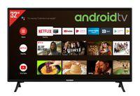 Telefunken XF32AJ600 32 Zoll Fernseher/Android TV (Full HD, HDR10, Triple-Tuner, Smart TV, Bluetooth)