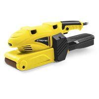 TROTEC Bandschleifer PBSS 10-600 Bandschleifgerät DIY Schleifgerät elektrisch (600 W, 3 mm Spantiefe, Hobelbreite 75 mm, 3m Kabel, inkl. Fangbox und Adapter)