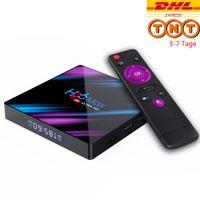 H96 Max Smart Android 9.0 TV Box Quad Core 4K H.265 4GB +32GB WiFi Media Player