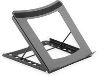 DIGITUS Mobiler Notebook-Ständer aus Stahl schwarz