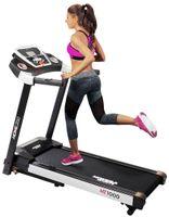 Miweba Sports Laufband Home Track HT1000F, klappbar, max. 16 km/h & 6% Steigung (Schwarz)