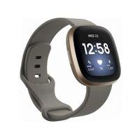 Fitbit Versa 3 / Sense Armband TPU Grau (S)