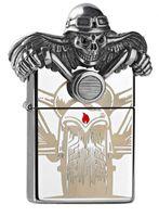 ZIPPO Feuerzeug 2.005.399 Ghostrider Death Rider in Acrylbox limited Edition 2500 pcs