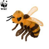 WWF Plüschtier Biene (17cm) lebensecht Kuscheltier Stofftier Plüschfigur