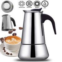 Espressokocher 12 Tassen 600ML Espresso Maker Espressokanne Kaffeekocher Kaffeebereiter Espressokanne
