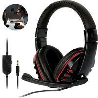 Gaming Headset Für Xbox One, PS4, Nintendo Switch und PC 3,5 mm Kopfhörer mit Mikrofon