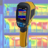 Wärmebildkamera Infrarotkamera Thermografie Gebäude Sanierung Schimmel Taupunkt Energiepass IR4