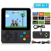Mini Retro Handheld Game Console System Videospielkonsole Tragbaren Spielkonsole Spieler Integrierte 500 Spiele mit Controller