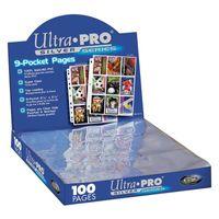 Ultra Pro - 9er Hüllen-Seite (10 Stück)
