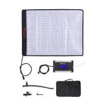 FalconEyes RX-18TD 100W zweifarbig 3000K - 5600K Dimmbar 504 Stueck LED-Licht Rollbare Stofflampe CRI95 mit LCD-Touchscreen-Controller + X-Form-Unterstuetzung fuer DSLR-Kamera Camcorder Fotostudio Videofilm-Portraetaufnahme