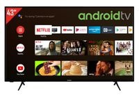 Telefunken XU43AJ600 43 Zoll Fernseher/Android TV (4K Ultra HD, HDR, Triple-Tuner, Smart TV, Bluetooth)