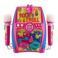 Trolls Karaoke Anlage Für Kinder mit Mikrofonen