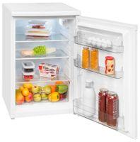 Exquisit Kühlschrank KS 16-4.3 RV | 130L Fassungsvermögen | Energieeffizenz++ | Weiß