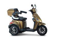 ECONELO MB500 - Seniorenmobil - 3 Rad Roller - 500 Watt - USB - Farbe: BRAUN
