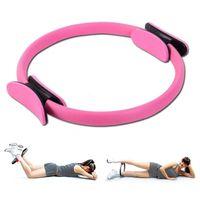 Pilates Ring, Magic Fitness Ring Geräte mit Double Grip Resistance Ring für effektives Kraft- und Widerstandstraining