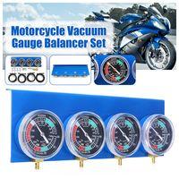 Motorrad Vergaser Vergaser Kraftstoff Vakuummeter Balancer 2/4 Zylinder Werkzeugsatz