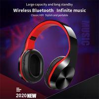 Faltbare drahtlose Bluetooth-Mikrofon-Kopfhörer Stereo-Kopfhörer Super-Bass-Headsets