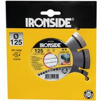 Ironside 241-032/304320 Diamant Schleifscheibe 125mm 2,2/6mm Laser 500, segmentiert (1 Stück)