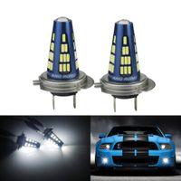 2x Neu H7 499 LED Auto Standlicht Nebel Licht Tagfahrlicht Lampen Xenon 6000K Weiß