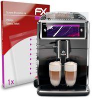 atFoliX FX-Hybrid-Glass Panzerfolie kompatibel mit Philips Saeco Xelsis Glasfolie