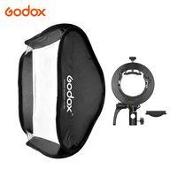 Godox 80 * 80 cm / 31 * 31 Zoll Flash-Softbox-Diffusor mit S2-Halterung Bowens-Tragetasche fuer Flash Speedlite Kompatibel mit Godox AD200Pro / V1-Serie / TT350-Serie / V860¢ò-Serie / AD400Pro