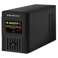 Qoltec 53954 Uninterruptible Power Supply  Monolith  1200VA  720W  LCD 