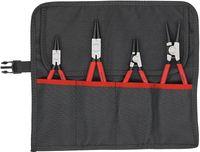 Sicherungsringzangensatz 4tlg. i.Rolltasche Knipex