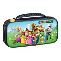 Bigben Interactive Switch Travel Case Super Mario & Friends NNS53A, Hartschalenkoffer, Nintendo, Mehrfarben, Nintendo Switch, Nintendo Switch Lite, Reißverschluss