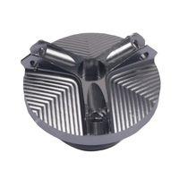 1 Stück Ölmotordeckel für Motorradmotoren Bräunen Modern 30,65 x 19,02 mm