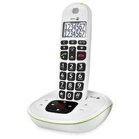 Doro Phone EASY 115 Schnurlostelefon mit Anrufbeantworter, Rufnummernanzeige, 10h Sprechzeit, 4 Tage Standby, Freisprechfunktion, DECT