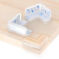 4x Eckenschutz Kantenschutz Glastisch Kinder Baby Tischkantenschutz-Schutze