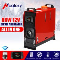 12V 8KW Diesel Air Heizung Heater Luftheizung Standheizung LKW PKW LCD