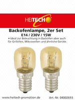 Backofenlampe, 2er Set