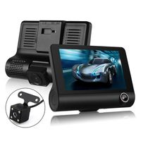 4'' HD 1080P Auto DVR Video Dash Cam Recorder Kamera Nachtsicht + Rückfahrkamera