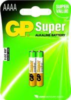 GP Batteries Batterie Alkaline AAAA / 02er Blister Batterien 030.25AC2