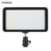 Andoer Ultra-Thin-3200K / 6000K Dimmbare Studio Video Fotografie LED Light Panel Lampe 228pcs Beads fuer Canon Nikon DSLR-Kamera-DV-Camcorder