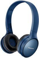 Panasonic RP-HF410BE-A - Kabellos - Kopfband - Binaural - Ohraufliegend - 20 - 20000 Hz - Blau