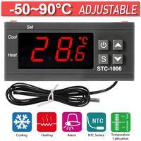 10A 220V Digitaler Temperaturregler Grad Sensor Digital Thermostat Instrument AC