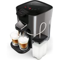 Philips Senseo HD6574/50 Latte Duo Kaffeepadmaschine, anthrazit