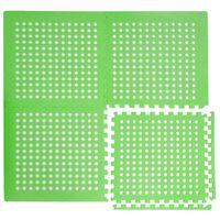 EVA Gittermatte 62x62cm Poolmatte Unterlage für Pool Grün