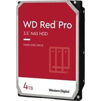"""WD Red Pro Festplatte - 3,5"""" Intern - 4 TB - SATA (SATA/600) - Speichersystem Unterstütztes Gerät - 7200U/Min - 300 TB TBW"""