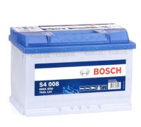 Autobatterie BOSCH 12 V 74 Ah 680 A/EN 0 092 S40 080 L 278mm B 175mm H 190mm NEU