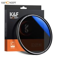 K &F CONCEPT 67 mm ultraschlanke CPL-Filteroptik Mehrfach beschichteter zirkular polarisierender MC-Polarisationsfilter fuer DSLR-Kameraobjektive